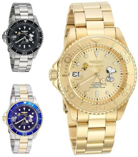 Invicta Character Collection Snoopy Men's 40mm Automatic Wat