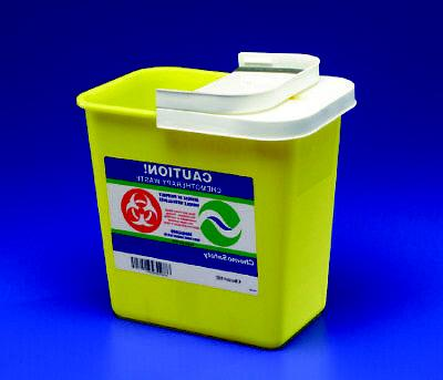 chemotherapy sharps container chemomax 1piece 26h x