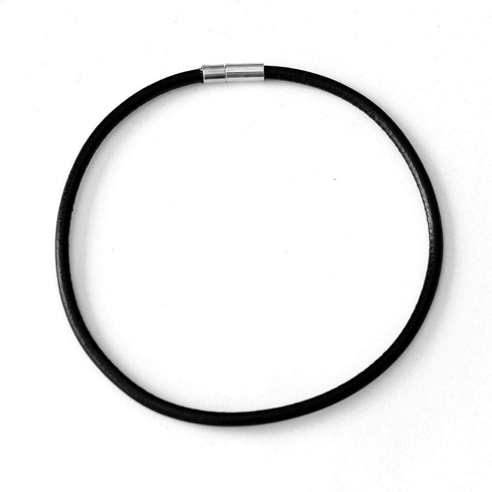 choker necklace 3 5mm black leather cord