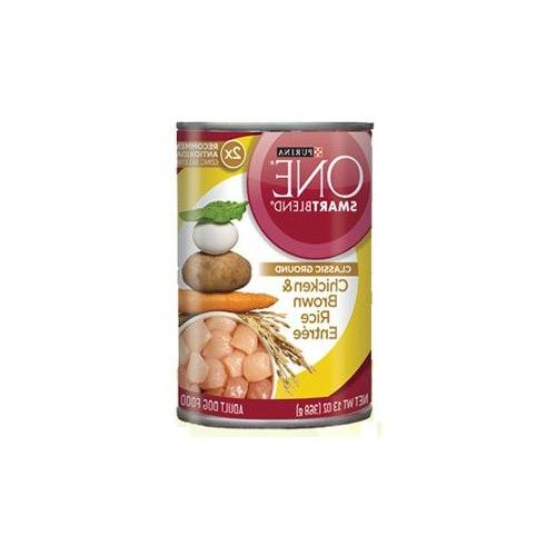 classic ground chicken canned dog