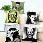 Classic Horror Frankenstein Throw Pillow Covers