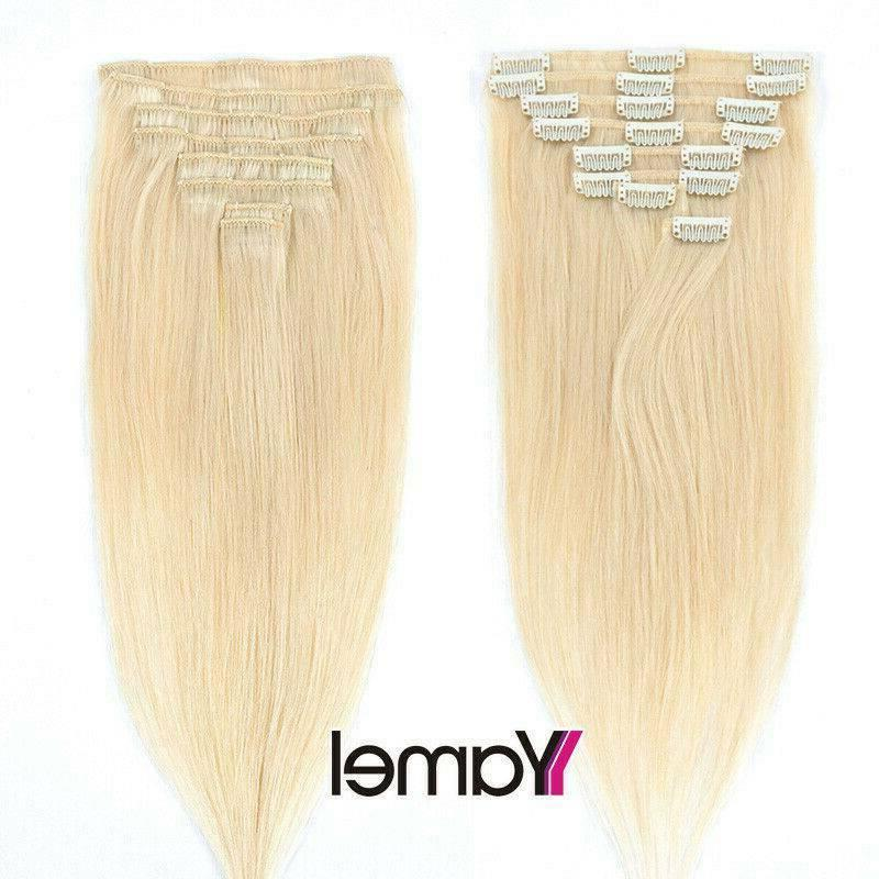 CLEARANCE in Hair Extensions Full 100% Real Long Soft