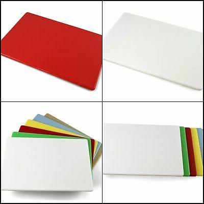Commercial Home Plastic Cutting Board NSF 18 x 12 x 0.5 Inch