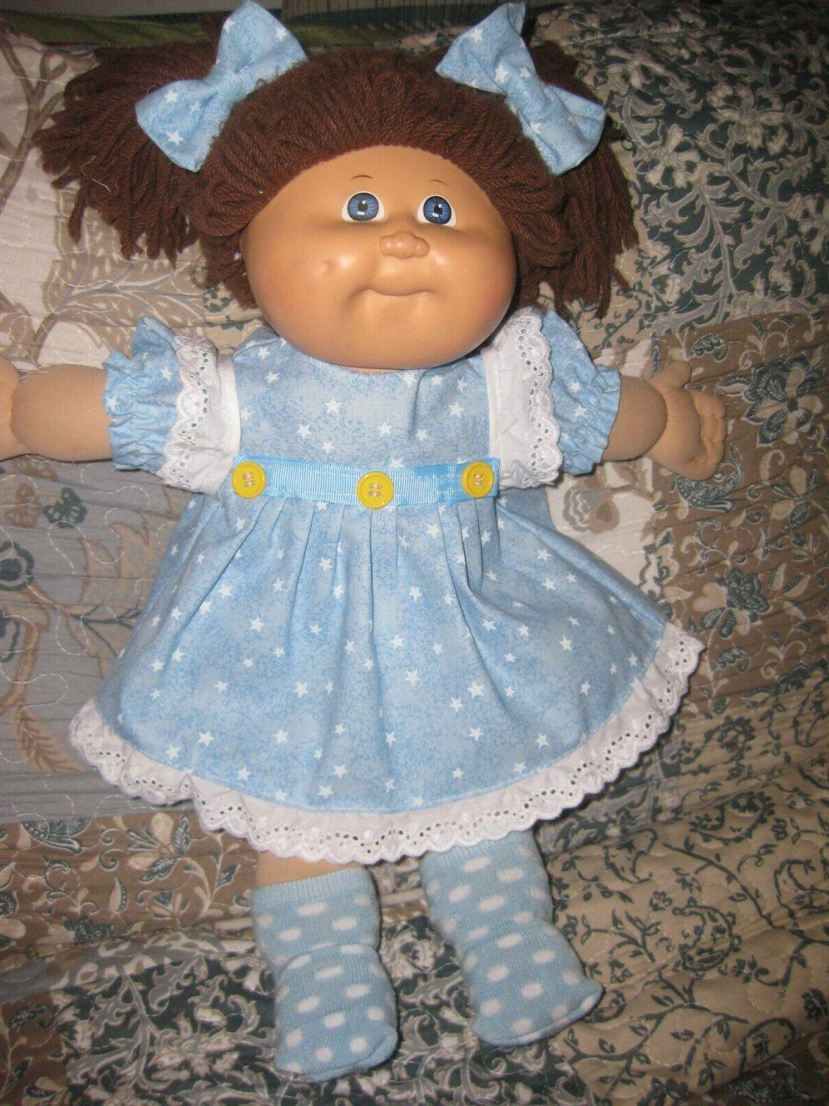 cpk doll clothes 16 18 inch blue