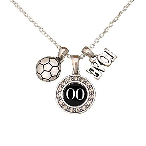 custom player id soccer necklace 00 one
