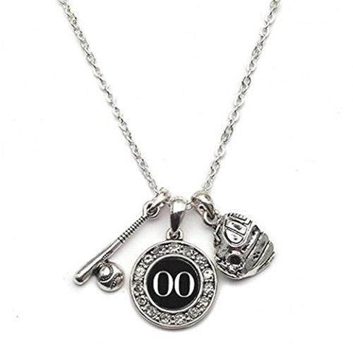 custom player id softball necklace 00 one