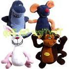 Multipet Deedle Dudes Singing Plush Dog Toy monkey rabbit mo