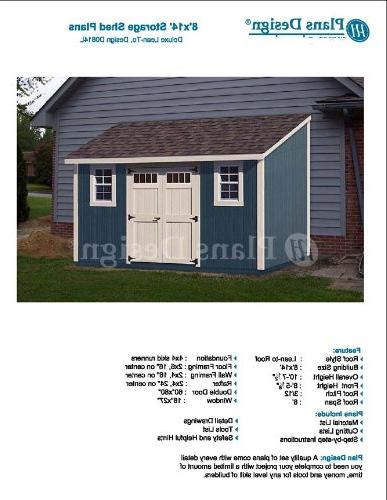 deluxe back yard storage shed