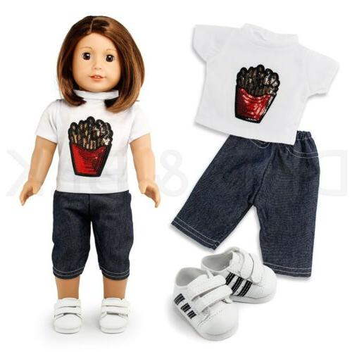"Doll Girl 18"" Wardrobe Makeover"