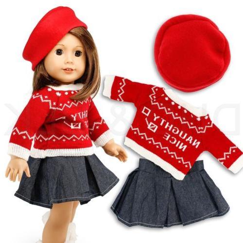 "Doll Girl 18"" Wardrobe"