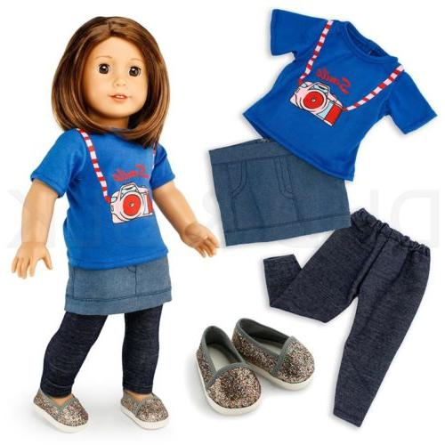 """Doll Clothes Girl 18"""" inch Wardrobe Makeover"""
