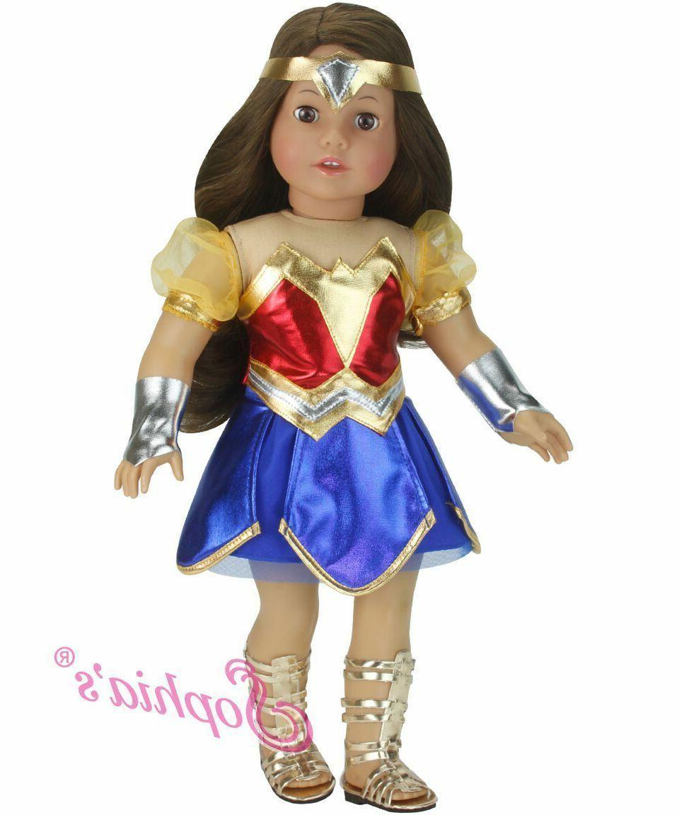 doll super hero costume