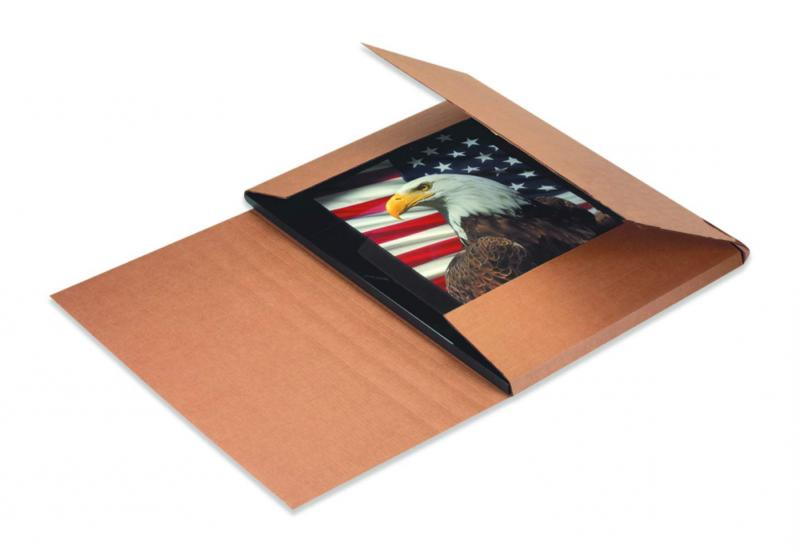 Easy-Fold Mailers 18X12X Inches Kraft Of 50 M18122BFK