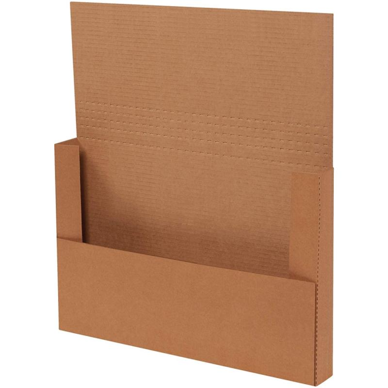 easy fold mailers 18x12x 2 inches kraft