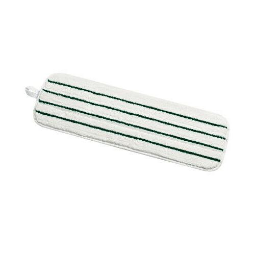 easy scrub flat mop green stripe 18