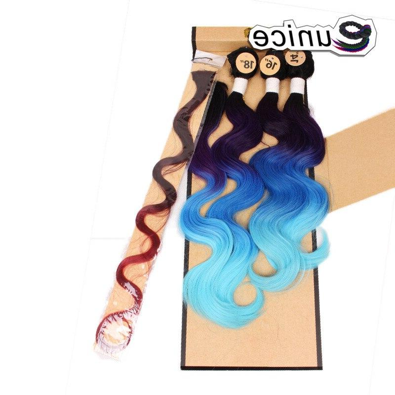 Eunice Temperature 16 <font><b>18</b></font> Wave Hair Synthetic With