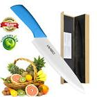Extremely Sharp Chef's Knife Kitchen Pure Ceramic Blade 8 in