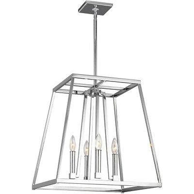 Feiss F3150/4CH 4 Light Pendant Light