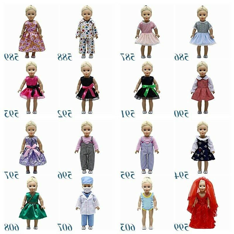Fits Doll Girls Doll Handmade Doll Clothes