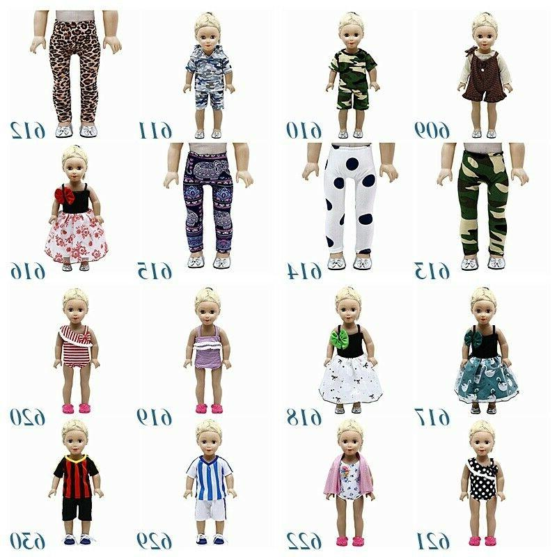 "Fits 18"" Girls Doll Doll Clothes dress"