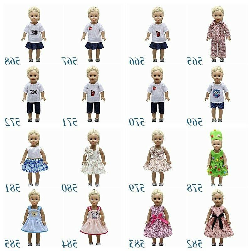 "Fits 18"" inch Girls Doll Doll Clothes"
