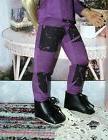 Fits 18 Inch Kidz 'n' Cats Doll ... Purple Checkers Leggings