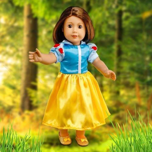 "Fits 18"" Doll Costume"