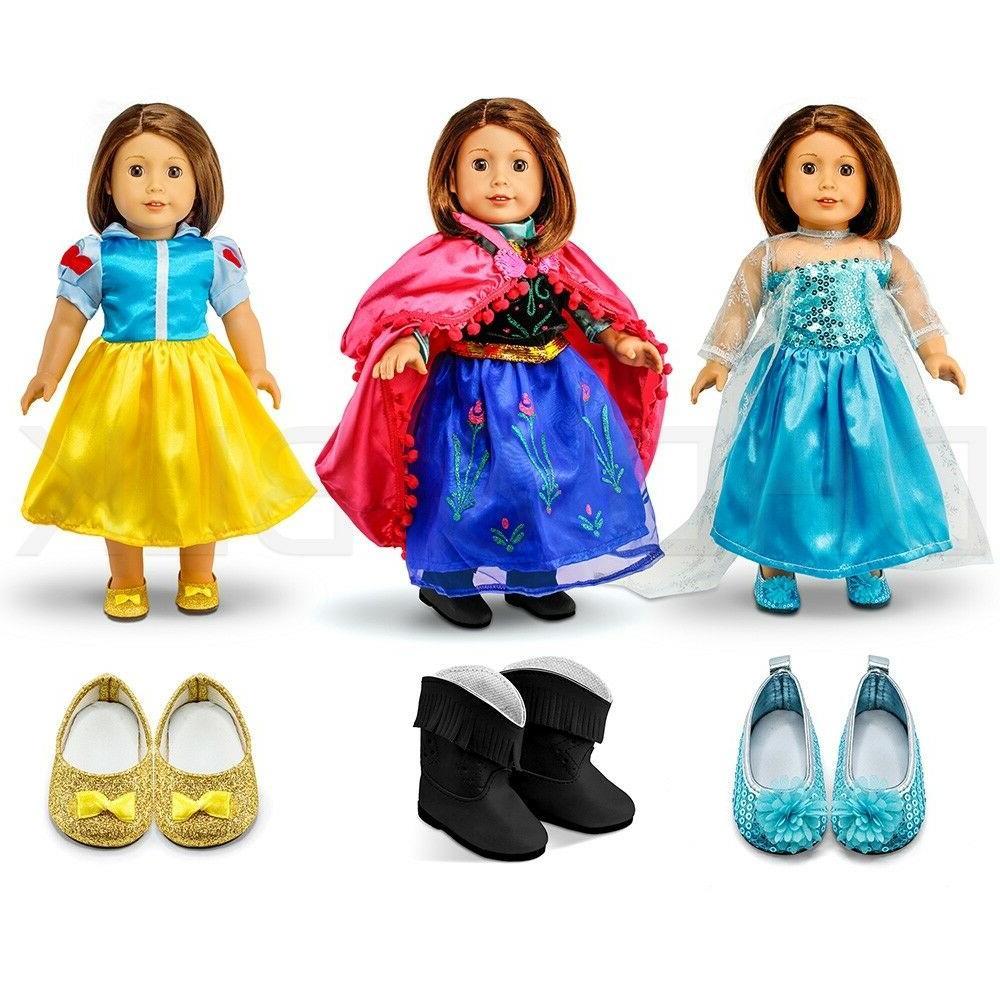 fits american girl 18 princess dress 18
