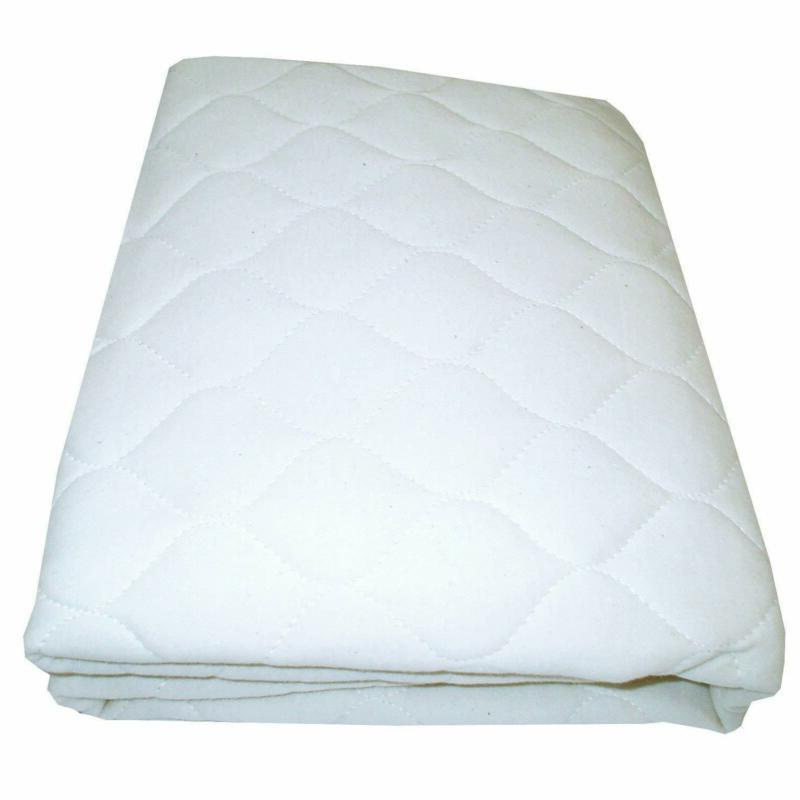 flat waterproof mattress pad for cradle size