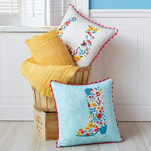"The Horseshoe Decorative Throw Pillow, 18"" x"