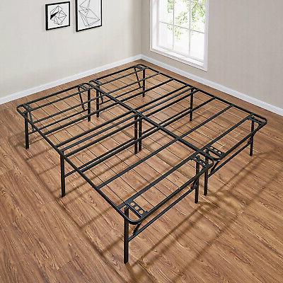 Foldable Steel Sleep Bed Stand Tall Bedstead