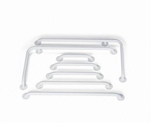 Hafele 18 inch Grab Bar in Pure White