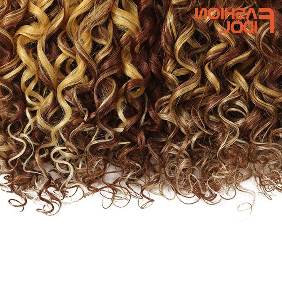 FASHION IDOL Loose Deep Synthetic Hair Nature Ombre PC <font><b>18</b></font> <font><b>Inch</b></font> Shipping