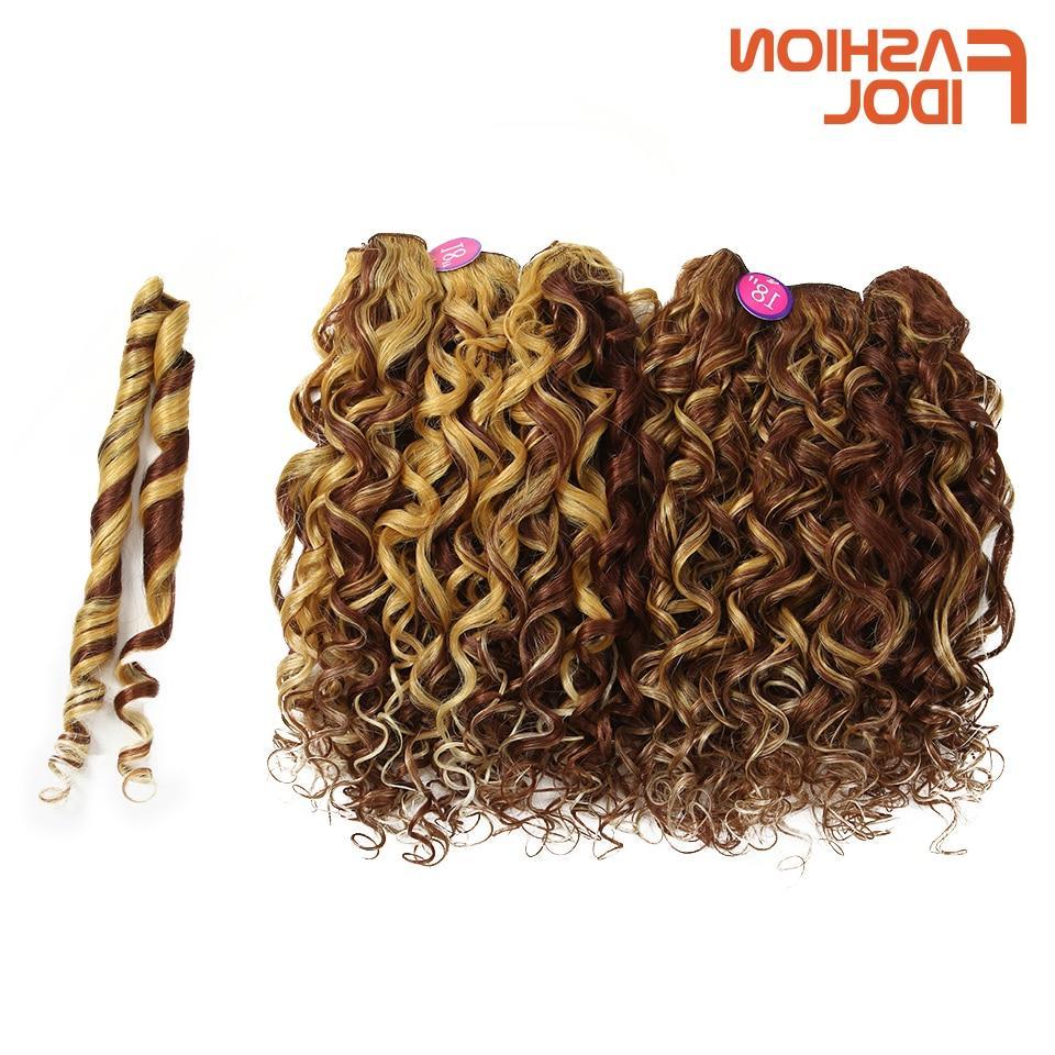 hair bundles loose deep wave synthetic hair