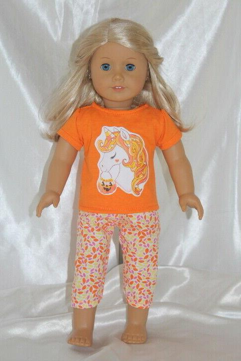 Halloween Dress Outfit fits 18inch American Clothes