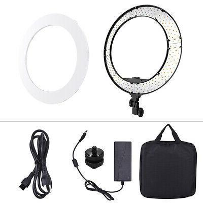 Andoer 18 Inch 252pcs LEDs Ring Light Lamp DSLR Camera