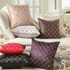 Home Sofa Decor Multicolored Plaids Throw Pillow Case Square