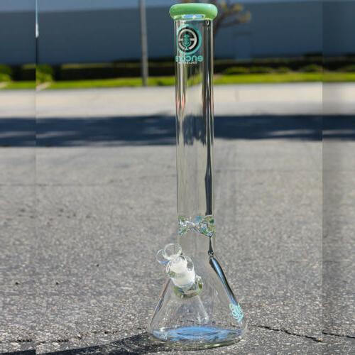 Hookah Water Pipe 18 inch 9MM Wall Heavy Tobacco Bong Beaker