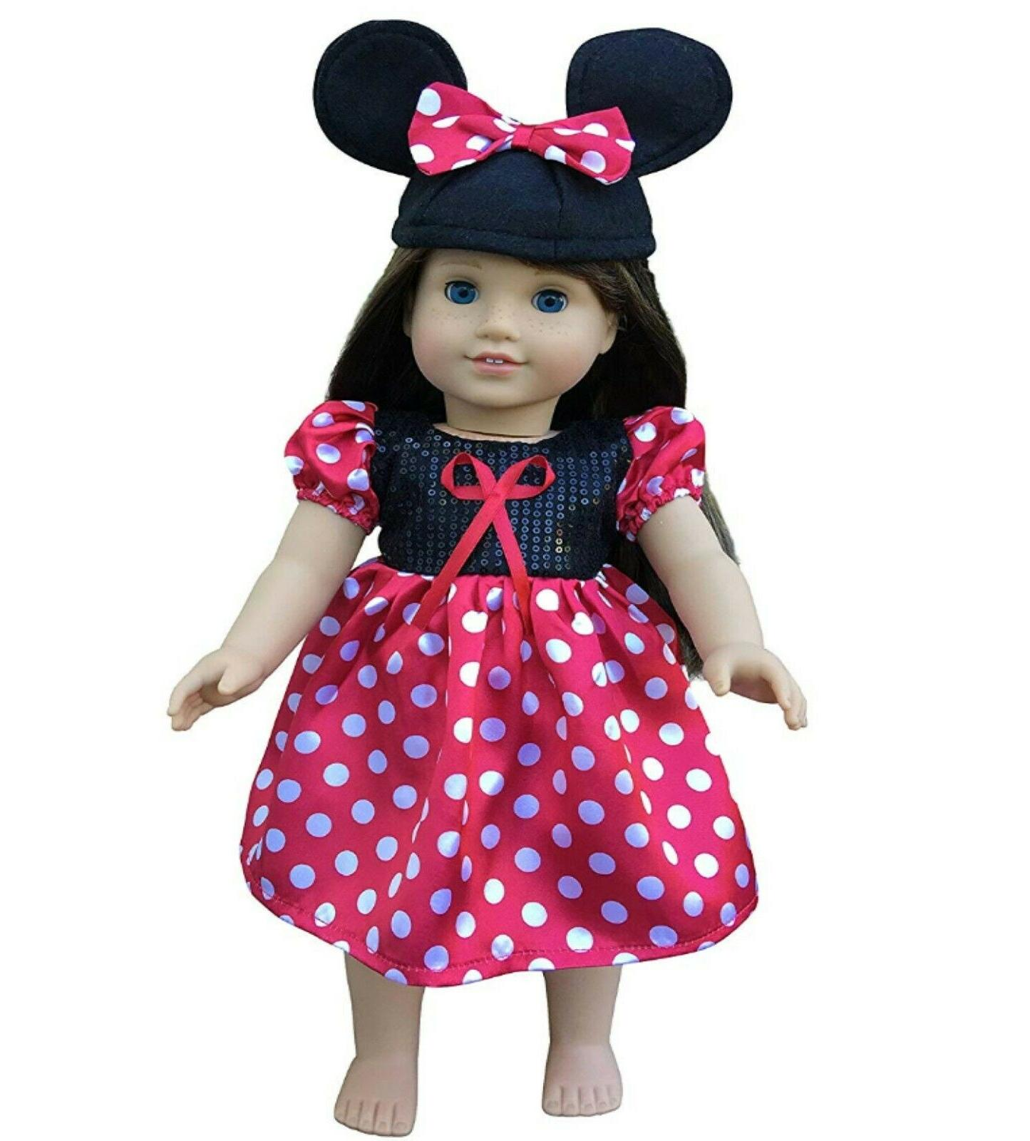 In-Style 18-Inch American Doll Clothes Dolls