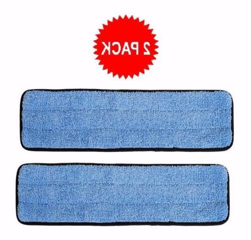 inch microfiber wet mop pads