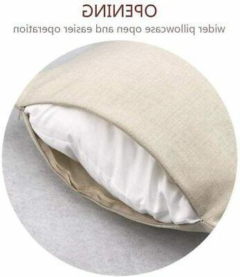 Jasfura of 4 Teal Throw Pillow 18x18 Inch Summer Bohemia