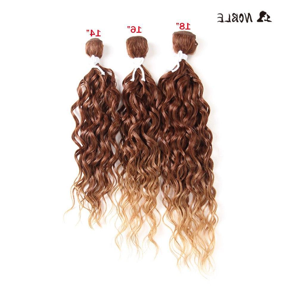long curly synthetic hair high temperature fiber