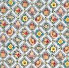 Mary Engelbreit  Checkered Diamond Patch  Fabric  ~ 2 Yards