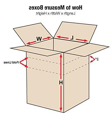 "Aviditi MD181818 Box, Length x 18"" Width Height, Kraft"