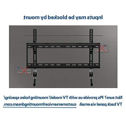 Mounting Dream TV Wall Bracket Most 42-70 LED, LCD Screen TV to VESA lbs.