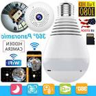 Mini Wireless Security SPY Hidden IP Camera 360° Panoramic