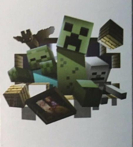 Mojang Minecraft Large Wall Sticker Decal Room Decor 24x18 i
