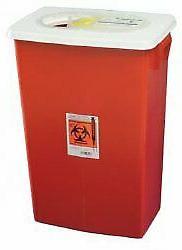 Multipurpose Sharps Container Biomax 1piece 26h X 1825w X 12