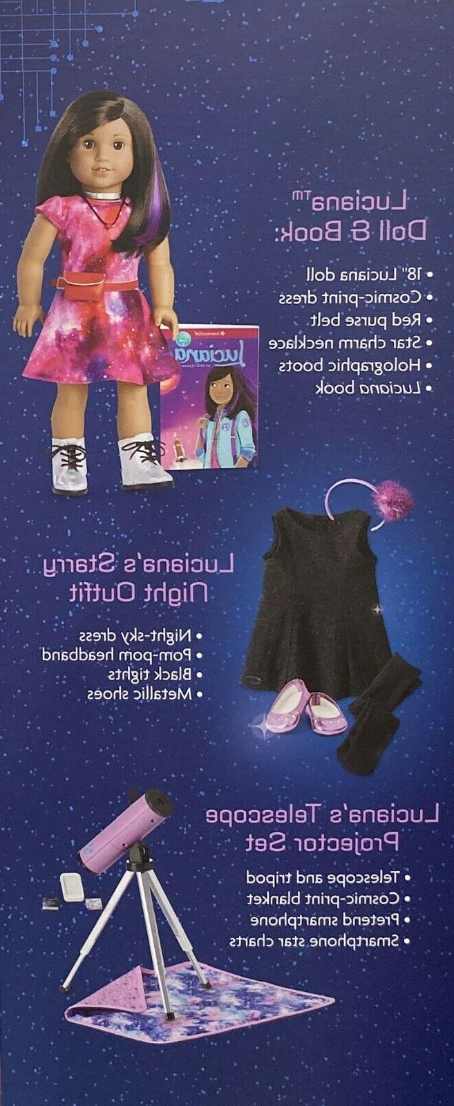 NEW Girl 18 inch Luciana Doll Accessories
