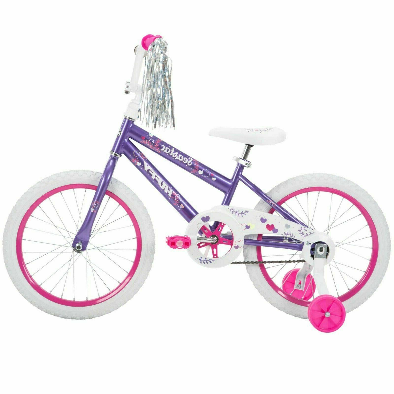 new 18 inch sea star girls bike
